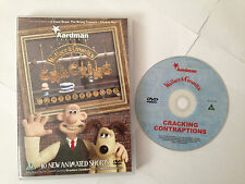 DVD Wallace and Gromit's Cracking Contraptions - 10 New Animated Shorts - rare