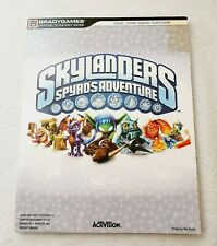 Skylanders Spyros Adventure Official Strategy Guide Bradygames