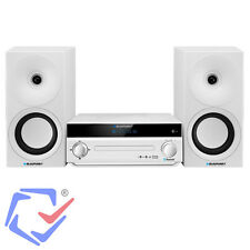 Micro Hifi Stereoanlage Kompakt-Stereoanlage Subwoofer CD/-R/-RW/MP3 40W  Weiß