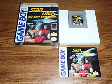 STAR TREK THE NEXT GENERATION NINTENDO GAME BOY GAME COMPLETE BOXED GBA