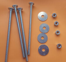 Mills, Jennings, Pace, Watling 4 Carriage Bolts For Sub Base No Head Mark Hex
