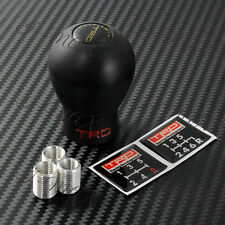 TRD Duracon 5 6 Speed Manual Black Shift Knob For Toyota FRS AE86 Supra MR2 tC