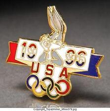 OLYMPIC PINS 1996 ATLANTA TEAM USA BUGS BUNNY FIGURE