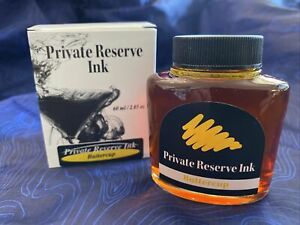 Private Reserve Ink Bottle Buttercup (Yellow), 60ml