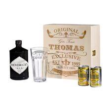 5-teiliges SET REGALO Hendrick'S Gin Tonic incl. INCISIONE ORIGINALE ESCLUSIVO