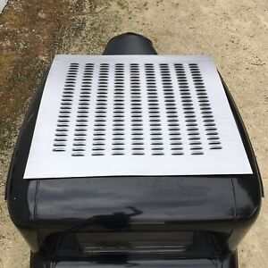 "XLARGE LOUVERED PANEL 44"" x 42"" DOME LOUVER ROOF DECK LID TRUNK SKIN INSERT SCTA"