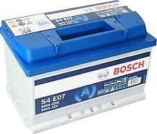 Batteria Auto Bosch S4 E07 0092S4E070 EN 650A 65 Ah 12V Start&Stop Pronto Uso