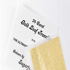 Sugarflair Gold Leaf 24 Carat