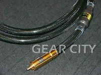 coa10 1m 3ft Digital Coaxial OFC Cable Audio Video AV RCA Plug Subwoofer HiFi