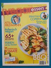Vegan essen Juli/August 2015 Ausgabe 2 ungelesen 1A absolut TOP