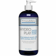 TitanMen Hydro Play💕Premium Personal Water Based Lubricant 32 oz - Lube Smooth
