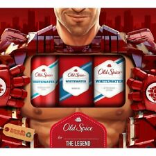 Old Spice Whitewater giftset ( deo spray, showergel, aftershave) for men