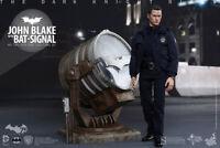 Batman The Dark Knight Rises Movie Masterpiece - John Blake with Bat Signal
