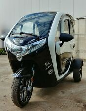 2,2kW KabinenRoller ElektroAuto MopedAuto ElektroMobil FührerscheinFrei 25-45kmh