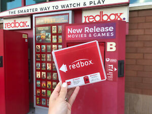 21 UNIQUE CODES DVD, REDBOX DVD OR BLU RAY EXPIRE 2/15/2021