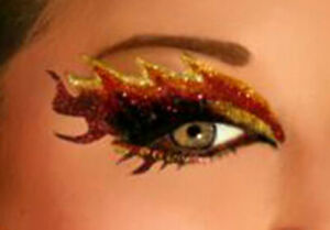 Xotic Eyes Self Adhesive Eye Makeup with Crystals Eye Strips Only