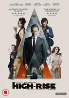 High-rise DVD (2016) Tom Hiddleston, Wheatley (DIR) cert 15 ***NEW***