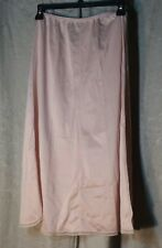 Vintage Half Slip Long A-line, Sz Medium, Beige/Nude by A.P.A. Made in Canada
