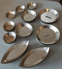 Lot 99 Piece Tin Bake Ware for Mini Tart Finger Food Made in France