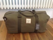 NEW⭐️ABERCROMBIE & FITCH⭐️A&F Green Weekend Gym Sports Holdall Holdal Travel Bag