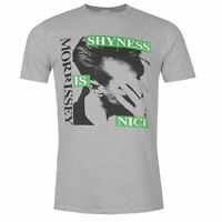 Official Mens Morrissey T Crew Neck Shirt Short Sleeve Print