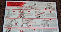 REMCO Flying Fox INSTRUCTION SHEET -  COLOR COPY ON COLLECTOR QUALITY PAPER