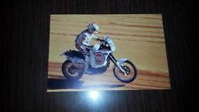 Cagiva 900 Orioli 1990 vittoria Paris Dakar cartolina originale