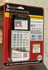 Texas Instruments Ti-83 Premium ce Calculatrice scientifique garantie 3 ans Neuf