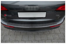 Protection Pare-Chocs en Acier Inoxydable Noir pour Audi Q5 8R Quattro S-LINE