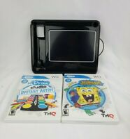 Wii uDraw Tablet and Game Bundle Studio Instant Artist Spongebob Squigglepants