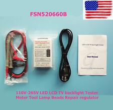 NEW 110V-265V LED LCD TV backlight Tester Meter Tool Lamp Beads Repair regulator