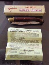 LAGUIOLE ARBALETE (G.DAVID- FRANCE- 440) FOLDING KNIFE