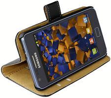 mumbi Tasche für Samsung Galaxy S2 Hülle Case Cover Klapptasche Schutztasche
