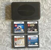 LEGO Harry Potter Indiana Jones Star Wars Nintendo DS 4-Cartridge TESTED Lot
