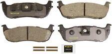 Disc Brake Pad Set-Total Solution Ceramic Brake Pads Rear Monroe CX711