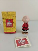 "Hallmark PEANUTS Gallery ""Charlie Brown"" Figurine Charlie Brown QPC4025 NEW"