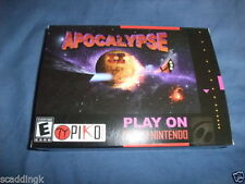 Arcade Nintendo SNES PAL Video Games with Manual