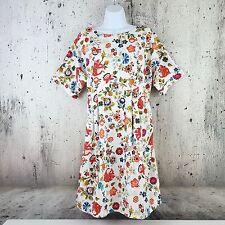 ASOS Maternity Size 14 Colorful Floral Print Short Sleeve Summer Shift Dress