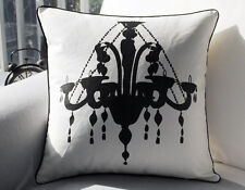 "New Chandelier Canvas Throw Pillow Case Decorative Cushion Cover Sham 18"" x 18"""