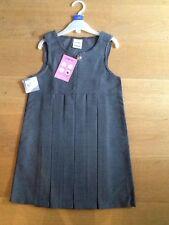 girls school dress 5-6 yrs,grey,new,teflon protected,ladybird