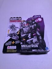 KRE-O Transformers Battle Changers MEGATRON 75 Piece Building Kit New Sealed Toy
