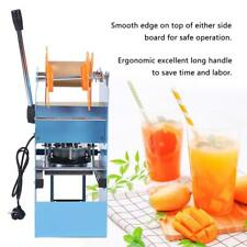 Hot Manual 270W Cup Sealer Sealing Machine Coffee Boba Bubble Tea 400-500 Cups/h