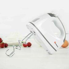 SQ Pro 300W Blitz Hand Mixer Dough 5 Speed Control  Turbo Button White