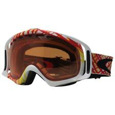 Oakley 57-521 CROWBAR SpiroGraph Orange Persimmon Unisex Snow Board Ski Goggles