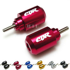TAIWAN MADE LASER ETCHED Bar End Weights for HONDA CBR 125 250 300 500 600 1000