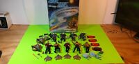 1993 Star Trek The Next Generation Collector's Case, 9 Figures & Accessories
