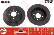 Bremsscheibe (2 Stück) - TRW DF4402