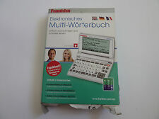 FRANKLIN PSW-475 - Multi-dictionary - GERMAN, ENGLISH, FRENCH