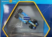 Renault F1 Team R26 Fernando Alonso #1 Autografiado escala 1:43 producto oficial