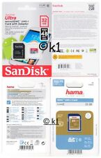 Speicherkarte Class 10 SDHC UHS-1 Karte 32 GB up to 48 MB/sec Full HD Video